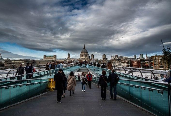 Millenial Bridge, London
